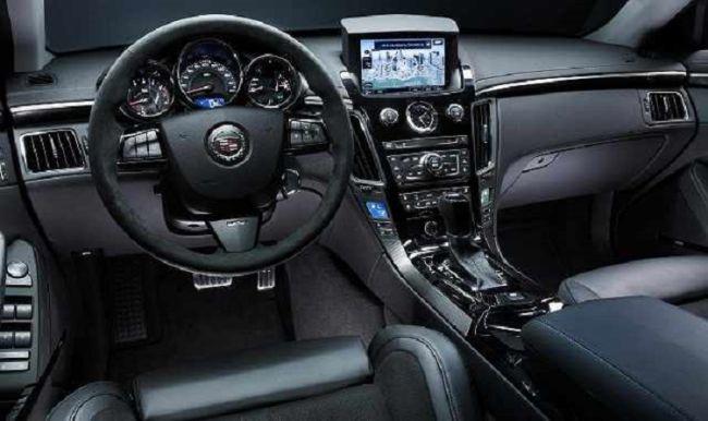 2016 Cadillac XT5 Interior
