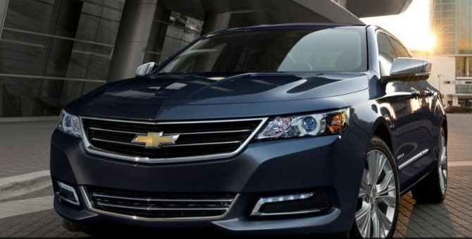 2016 Chevrolet Impala Front