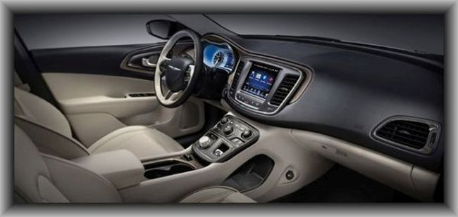 2016 Chrysler 100 Interior