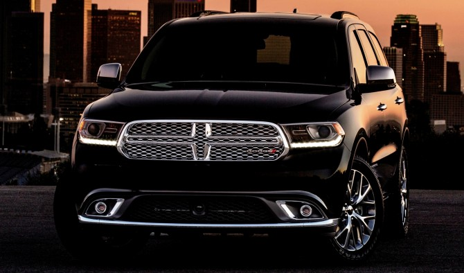 2016 Dodge Durango Front