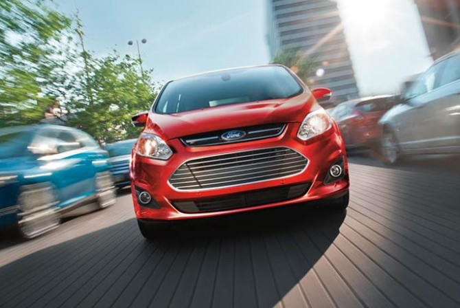 2016 Ford C-Max Energi Front