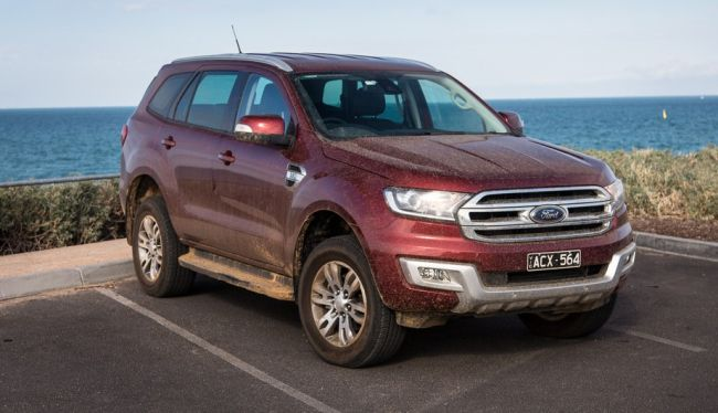 2016 Ford Everest Exterior