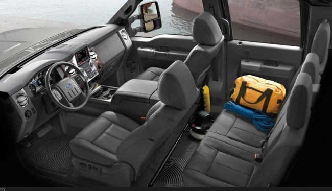 2016 Ford F 250 Super Duty Interior