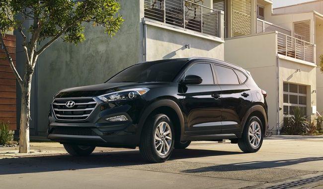 2016 Hyundai Tucson SUV Exterior
