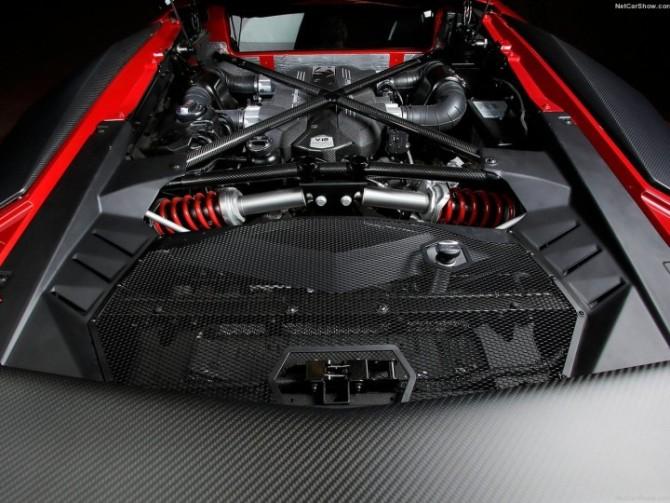 2016 Lamborghini Aventador Engine 1