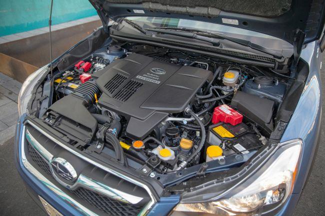 2016 Subaru Crosstrek Engine