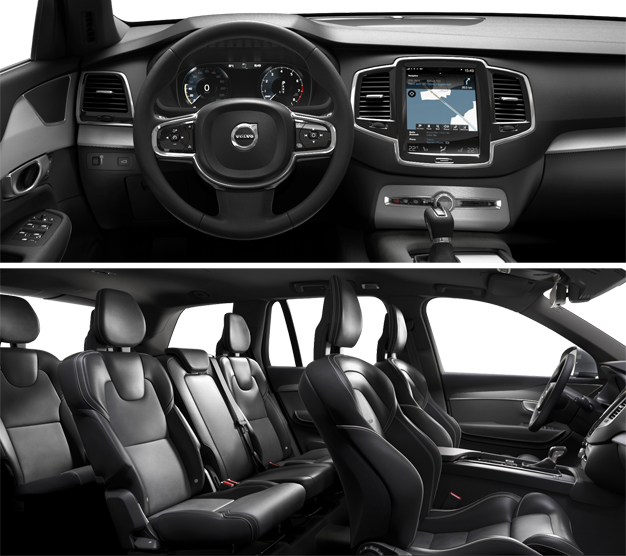 2016 Volvo XC90 Inteior-Dashboard