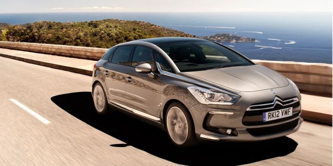 2015 Citroen DS5 On the road