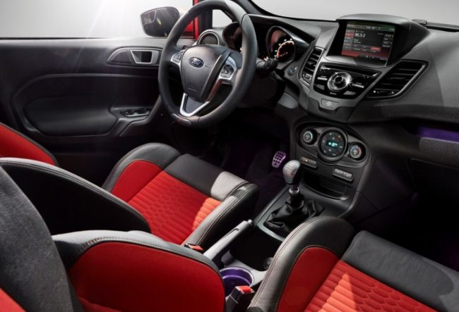 2015 Ford Fiesta RS Dashboard