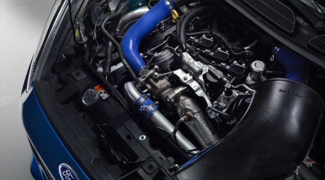 2015 Ford Fiesta RS Engine