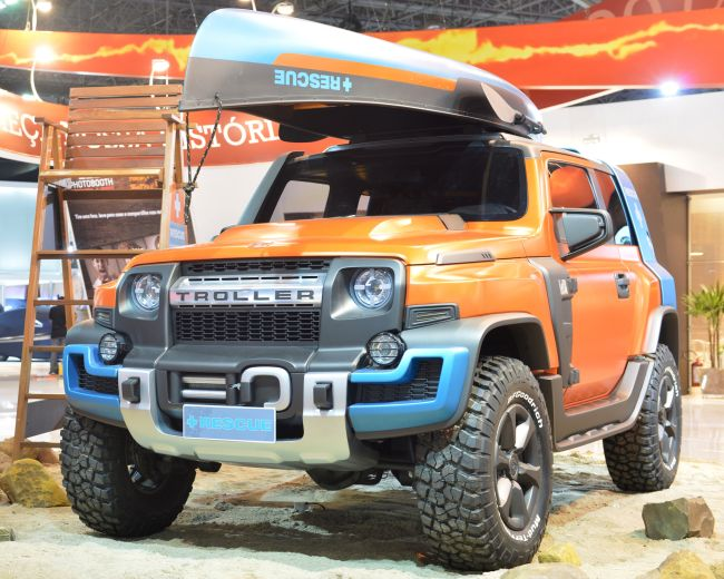 2015 Ford Troller T4 Exterior