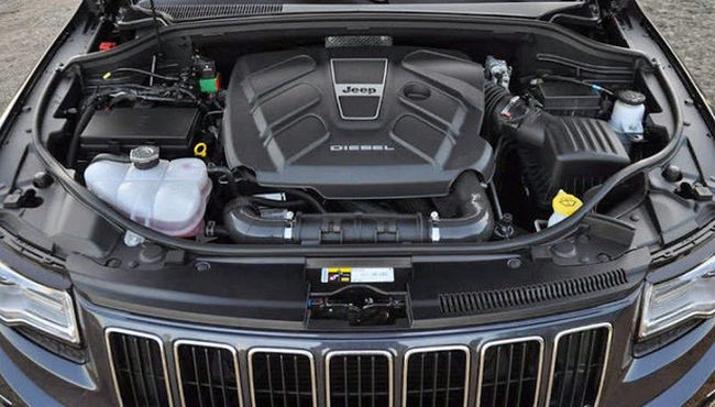 2015 Jeep Grand Cherokee Engine