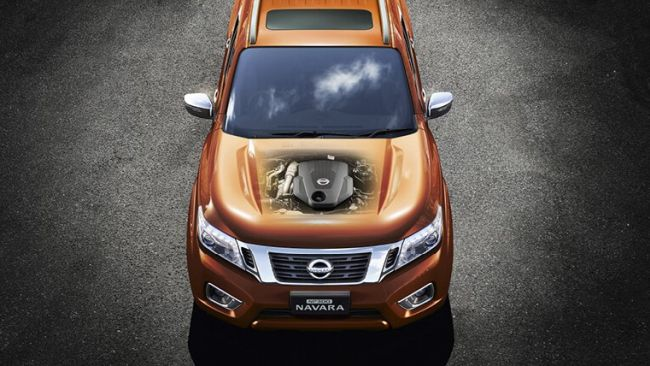 2015 Nissan Navara Engine
