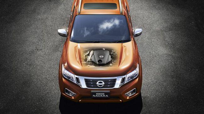 2015 Nissan Navara Engine