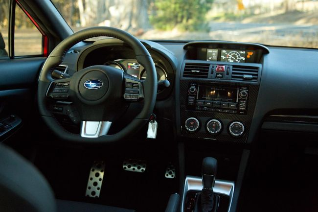 2015 Subaru BRZ Turbo Interior