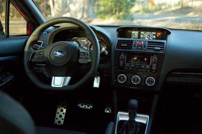 2015 Subaru BRZ Turbo Interior