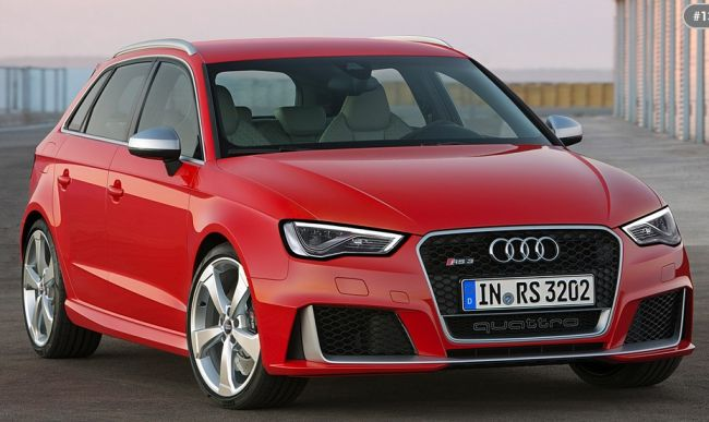 2016 Audi RS3 Sportback Front