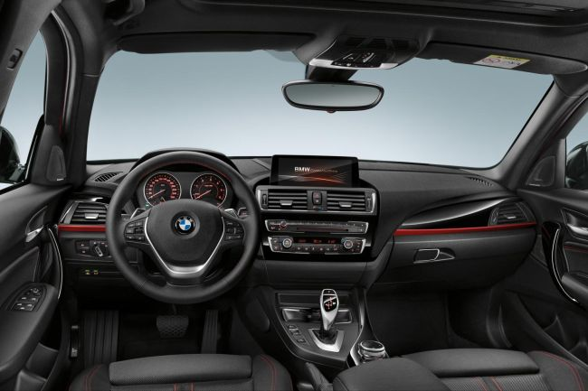 2016 BMW 1 Series Interior