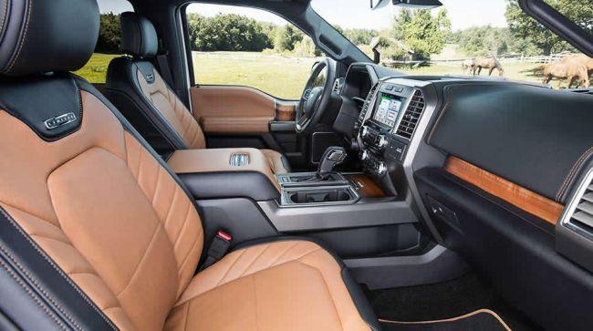 2016 Ford F 150 Interior