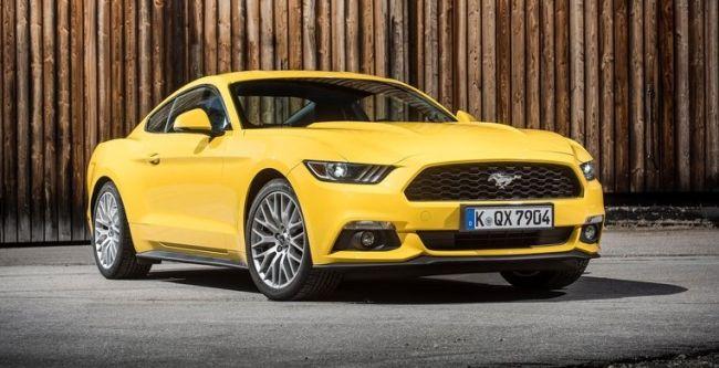 2016 Ford Mustang EU-Version Exterior
