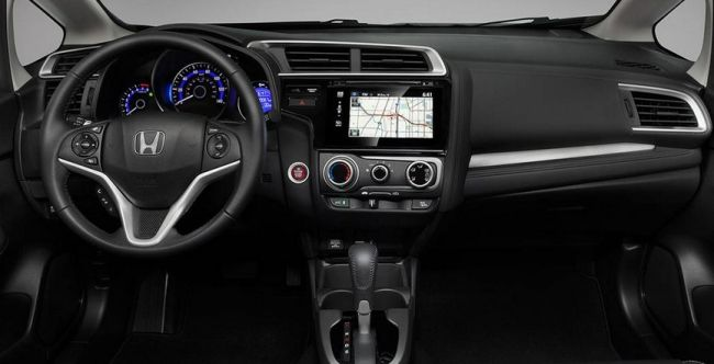 2016 Honda Fit Interior
