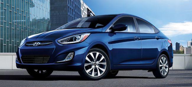 2016 Hyundai Accent Blue