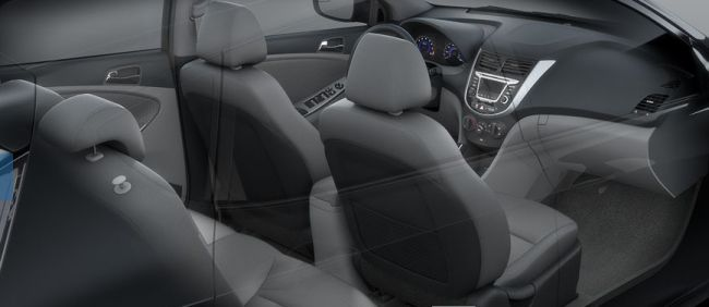 2016 Hyundai Accent Interior