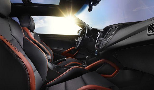 2016 Hyundai Veloster Interior