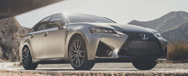 2016 Lexus GS F Front Side