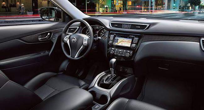 2016 Nissan Qashqai Dashboard