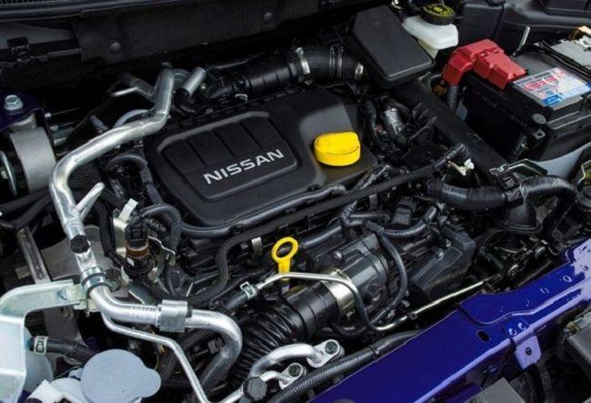 2016 Nissan Qashqai Engine