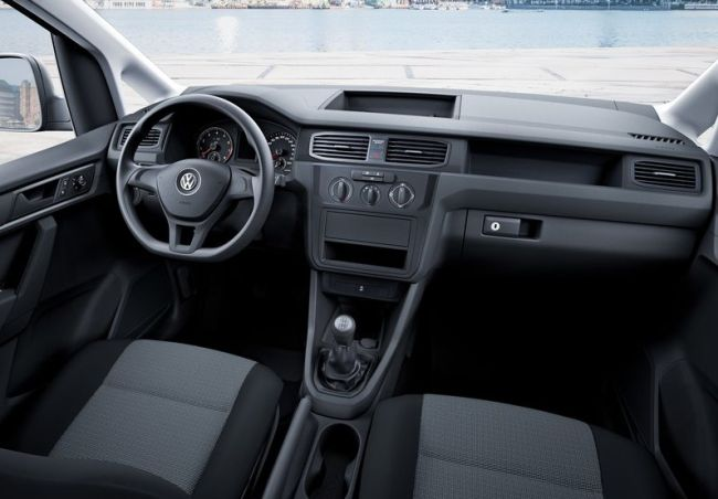 2016 Volkswagen Caddy Dashboard