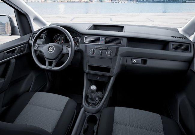 2016 Volkswagen Caddy Dashboard