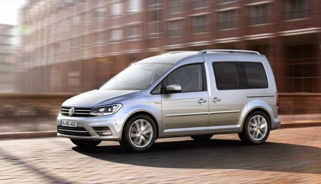 2016 Volkswagen Caddy Side View