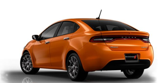2017 Dodge Dart SRT4 Rear Left Side