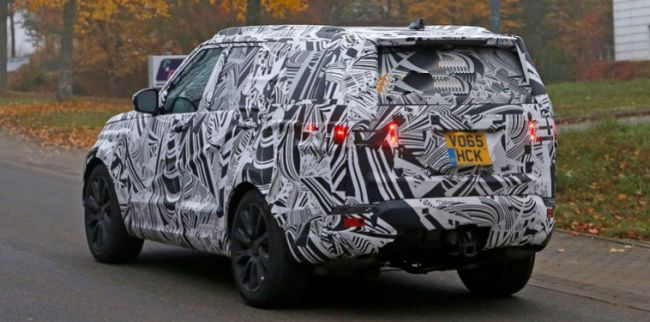 2017 Land Rover Discovery Exterior