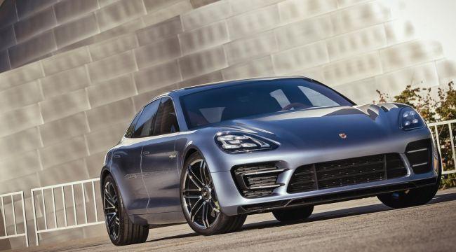 2017 Porsche Pajun Concept Exterior