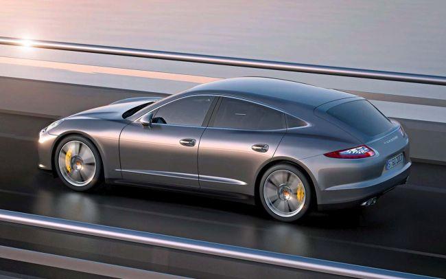 2017 Porsche Pajun Concept Side View