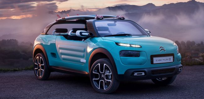 Citroen Cactus M Concept Front Side View