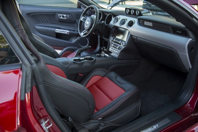 2015 Shelby Super Snake Interior