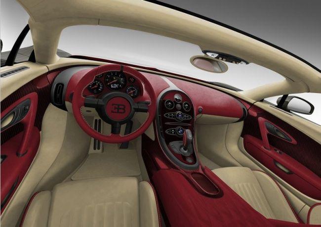 2016 Bugatti Veyron Dashboard