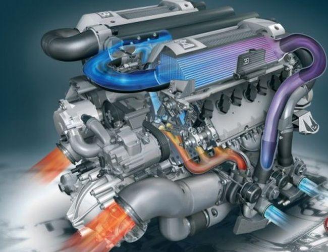 2016 Bugatti Veyron Engine