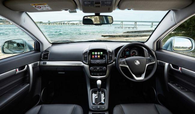 2016 Holden Captiva Dashboard