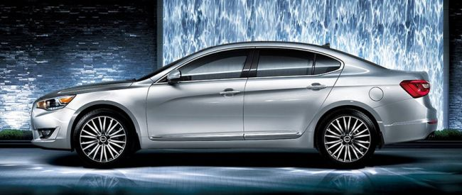 2016 Kia Cadenza Side View