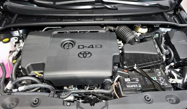 2016 Toyota Avensis Engine