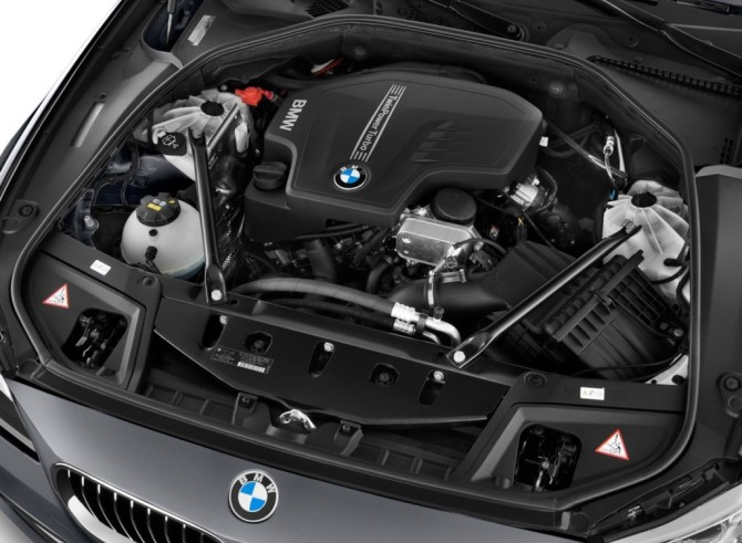 2017 BMW 5 Series Engine