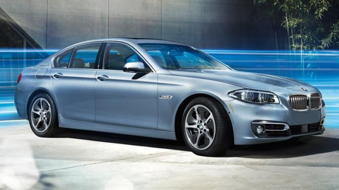 2017 BMW 5 Series Exterior