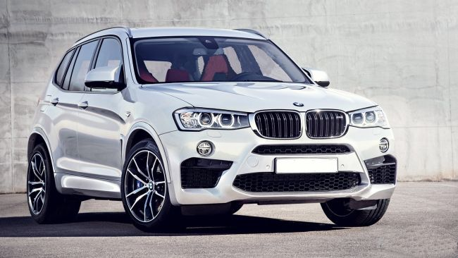2017 BMW X5 Full Front