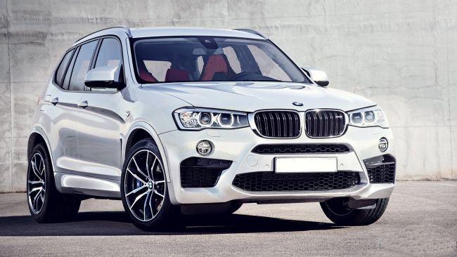 2017 BMW X5 Full Front
