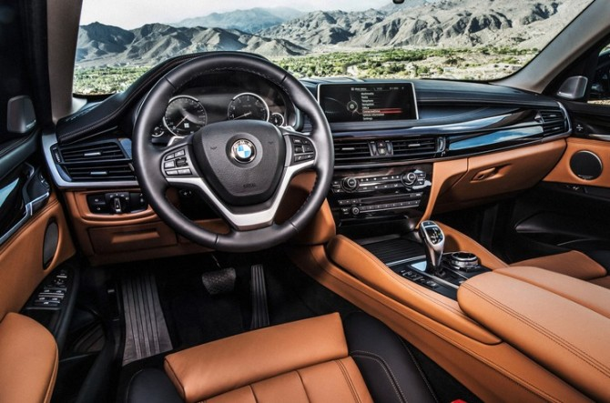 2017 BMW X7 Dashboard